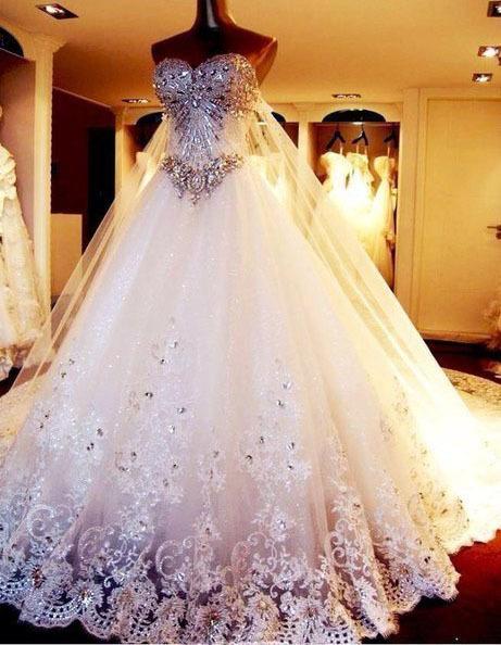 Свадебные самые красивый платья